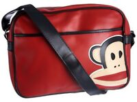 Paul Frank LIMITED EDITION RED Messenger Bag