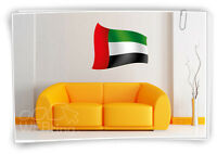 Emiratos Árabes Árabes Bandera Bandera Fútbol Adhesivo Deporte Em Mundial Stick -  - ebay.es