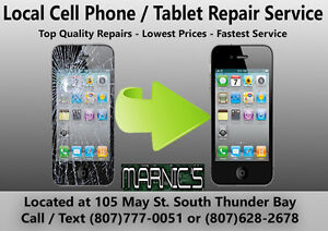 Cell Phone / Tablet Repair - iPhone / iPad - Best Prices