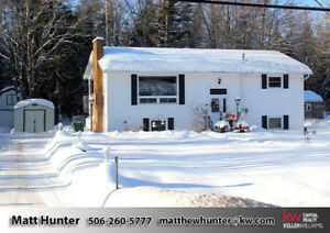 Adorable Home - Conveniently Located Between F'ton & Oromocto