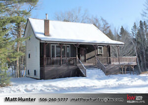 Chalet Style Home Between Fredericton & Oromocto, Almost 5 Acres