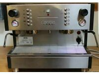 GAGGIA XD 2 GROUP AUTO COMPACT COFFEE ESPRESSO MACHINE IN VGC