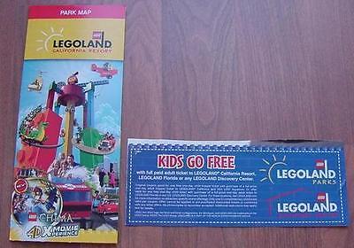 One  1  Legoland Kid Kids Child Go Free California Or Florida Good 12 31 2018