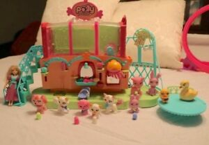 Polly Pocket Sparklin' Pets Spa