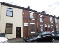 2 bedroom terraced house to rent/ Rutland Street, Hanley, ST1 5JG
