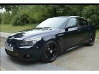 BMW M5 Conversion 535D M Sport Twin Turbo, Automatic, Black with AC Schnitzer Modification, Long MOT