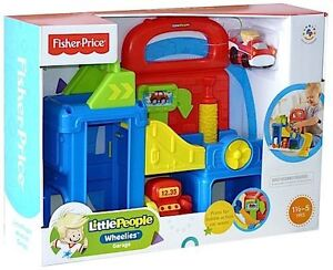 Fisher-Price Little People Wheelies Garage (BFT92)