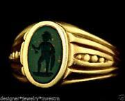 Gold Intaglio Ring