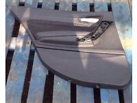 BMW 1 SERIES E87 LCi DOOR CARD LINING PANEL REAR LEFT N/S