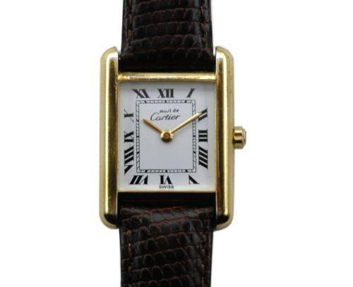 Vintage Ladies Cartier Tank Watch Ebay