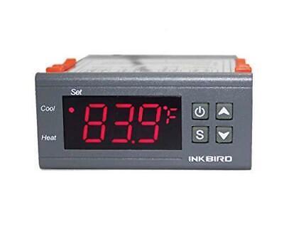 Inkbird Dual Stage Dv 12v Digital Temperature Controller Fahrenheit Thermostat