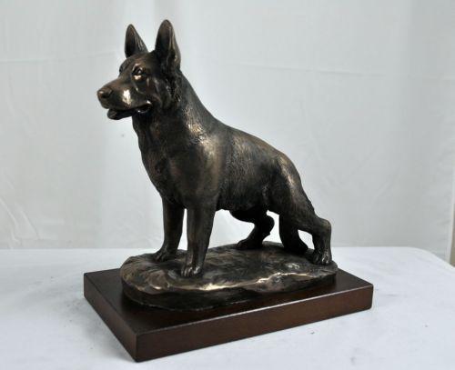 German Shepherd Statue Ebay