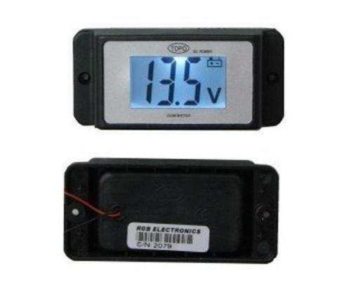 Rv Battery Voltage Gauge : Rv volt meter ebay
