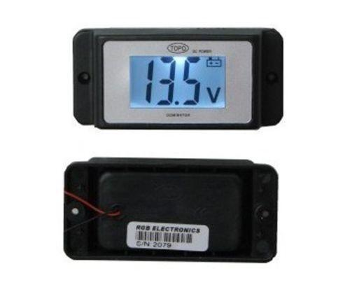 Rv Battery Voltage Monitor : Rv volt meter ebay