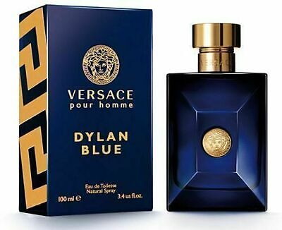 VERSACE Dylan Blue 100ml EDT Men's Spray New Boxed Sealed FAST UK P&P D1D