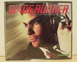 Blade Runner Video Game First Real-Time 3D Adventure (PC, 1997)