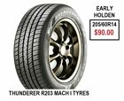 THUNDERER Car and Truck Tyres