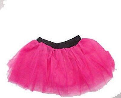 Neon Pink Tutu Erwachsene XXL 16-26 80er jahre Kostüm & (80er Jahre Rock Erwachsene Kostüme)