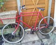 Vintage Bicycle Basket