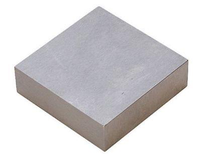 "4"" x 4"" x 3/4"" Vanadium Steel Bench Block - Jewelry Making Jewelers Tool"