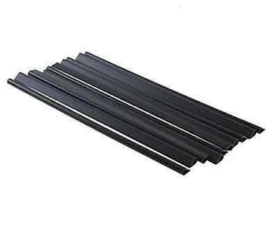 50 X Black 5mm Plastic Slide Binder A4 Spine Document Binding Bars