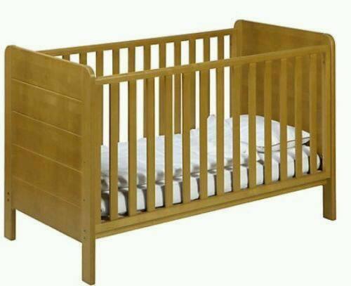 John Lewis Malmo 3 Piece Pine Nursery Furniture Set