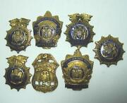 New York City Police Badges