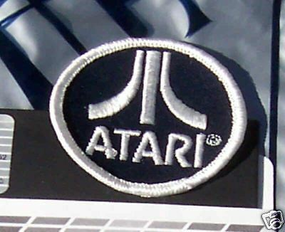 Atari Logo Patch 2600/7800/ST/800/XL/XE 2 each