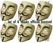 Guy Fawkes Mask Lot