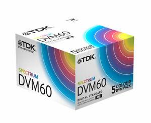 TDK Spectrum Mini DV DVM60 Digital Video Tape x2