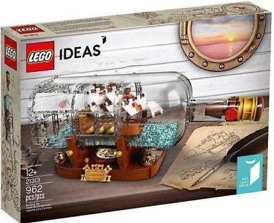 New Lego Ideas 21313 Ship In A Bottle  Genuine Lego