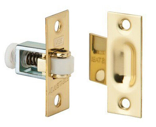 Ives Solid Brass Roller Catch