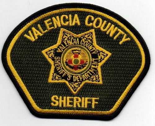 NEW MEXICO NM VALENCIA COUNTY SHERIFF NICE PATCH POLICE