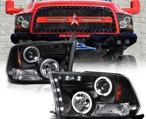 2009 to 2017 Dodge Ram 1500 Aftermarket Headlights