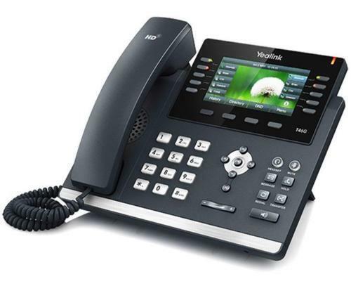 NEW2019 Yealink@SIP-T46G Gigabit VoIP IP Phone