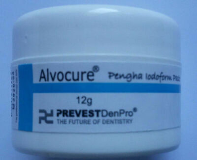 12gm Jar Alvocure Dry Socket Paste - Pengha Alveolar Alvogyl Dental Dressing New