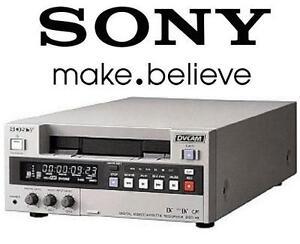 USED SONY CASETTE PLAYER RECORDER DVCAM Digital Videocassette Recorder 106912150
