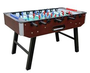 Foosball Table Brand New, Brown, Pick Up $499+HST,or Installed $649+HST Clearance Sale, Limited QTY available only