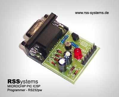 MICROCHIP PIC ICSP PROGRAMMER KIT , RS232, JDM2 (Pic Programmer Kit)