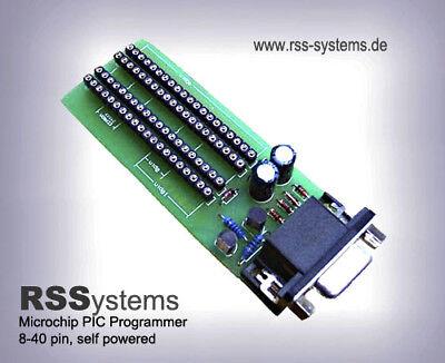 AUSVERKAUF- PIC PROGRAMMER KIT 8-18-28-40PIN -MICROCHIP (Pic Programmer Kit)