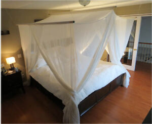 RF Bed Canopy - Naturell - Single