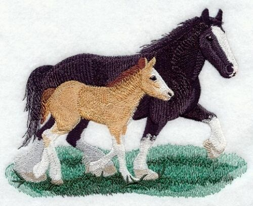 Embroidered Fleece Jacket - Clydesdale M1710 Sizes S - XXL