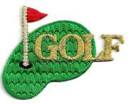 Iron on Golf Patches