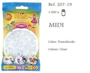 207-19-Hama-Beads-MIDI-1000x-Piezas-color-translucido-translucid-colour