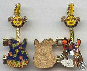 Hard-Rock-Cafe-CHICAGO-2006-HINGE-GUITAR-Series-PIN-11-12-Fall-Leaves-HRC-35111