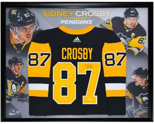 Sidney Crosby Signed PRO Jersey Framed - FRAMEWORTH