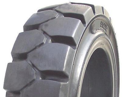 4.00-8 Tires General Service Solid Forklift Tire No Flats 3.0 Rim Width 4008