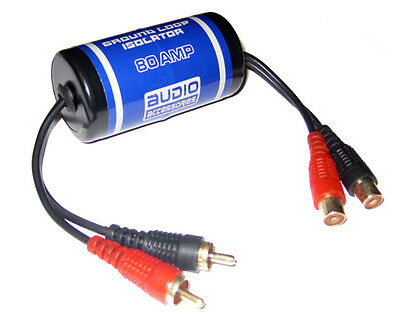 NOISE FILTER REDUCER GROUND LOOP ISOLATOR CAR AUDIO AMPLIFIER INSTALL 80 AMP 80A