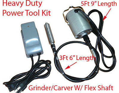 """42"""" Electric Flexible Rotary Shaft Grinder Carver Drill"""