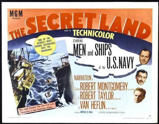 THE SECRET LAND Movie POSTER 22x28 Half Sheet